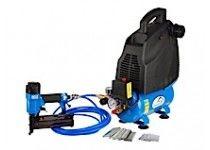 1,5 HK 24L Ferax Oljefri kompressor kitsæt inkl. spikpistol och mutterdragare, etc.