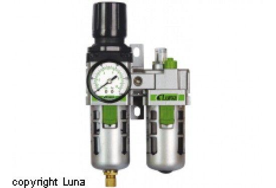 Luna AFRL3/8 A filterregulator och dimsmörjare