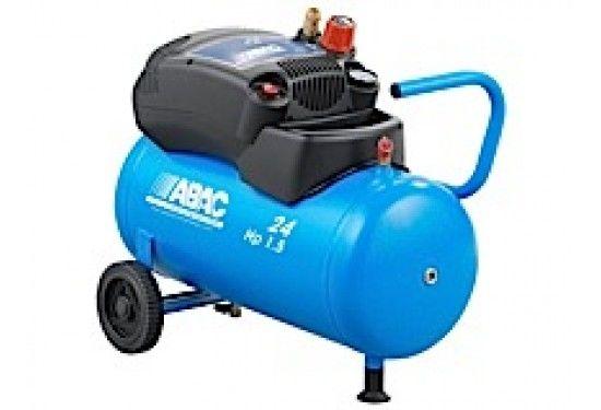 ABAC 1,5 - 24 l  Kolvkompressor direktdriven oljefri