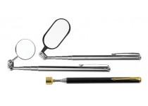 Inspektionsspegel och magnet Diesella - 3 stk