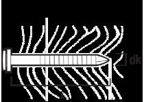 Blegsøm 2,5x30 vfz hvid-200