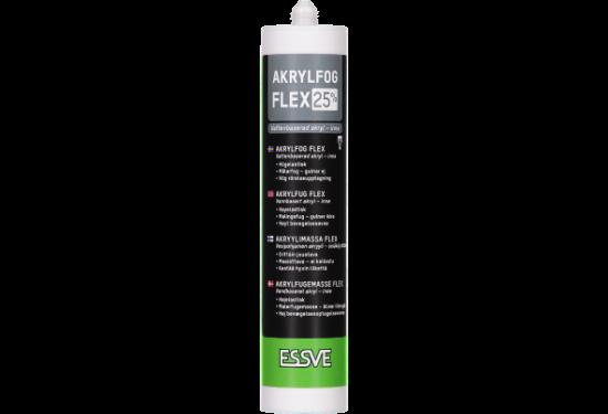 Akrylf flex 25 hvid 0500n