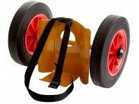 Minigastubsvagn massiva hjul