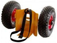 Minigastubsvagn luftgummihjul