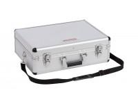 Aluminiums kuffert sølv 460x330x155 mm