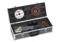 Vinkelsliber 900 watt 125mm i kuffert