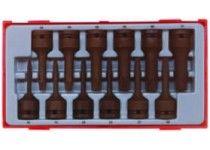 Krafthylsbitssats tx 12 delar