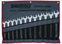 1/4-3/4 tum U-ringnyckelsats 9 st Teng Tools 6509af