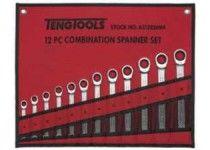 8-19 mm 12 delar U-ringspärrnyckelsats Teng Tools 6512RSMM