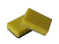 Kökssvamp vit/grön 10-pack