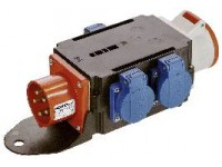 Grenuttag ip44 16a/400v/230v