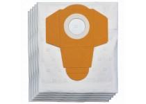 Dammpåse 25 l i plast för våt / torr dammsugare (5 st)