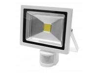 Arbejdslampe LED-20W-230V sensor - hvid