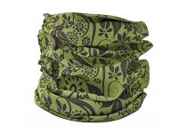 Halsrør grøn m/mønster