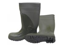 Støvle S5 PVC m/sikkerhed grøn