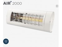 AIR+ 2000 värmelampa utan ljus - ZeroGlare teknologi