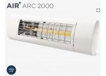 AIR+ ARC 2000 värmelampa (styrning med fjärrkontroll som medföljer)