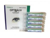 ögonskölj, steril, 0,9% NaCl, 20 ml, æske á 25 stk.