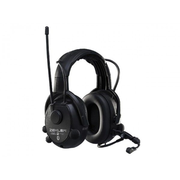 Fantastisk 412RDB Zekler hörselskydd med Bluetooth - uppladdningsbart batteri UP-92