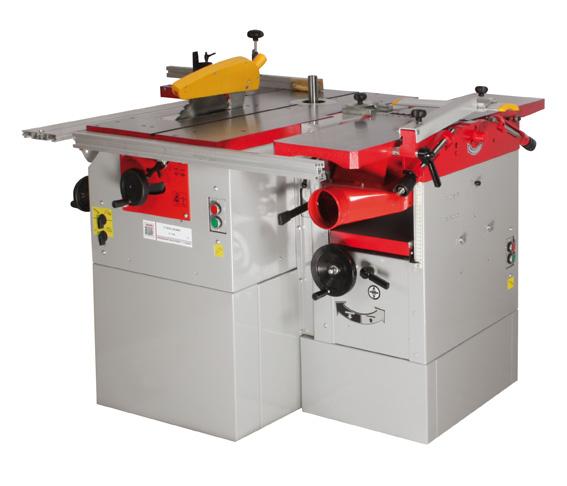 Køb K5 260L Kombimaskin till trä | Holzmann
