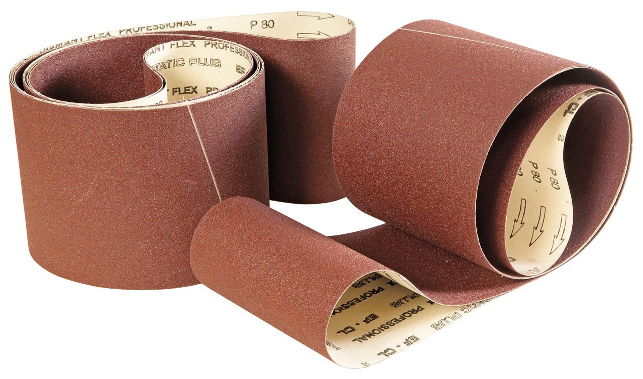 Køb 3000 x 150 mm Slipbandsset olika korn, papper