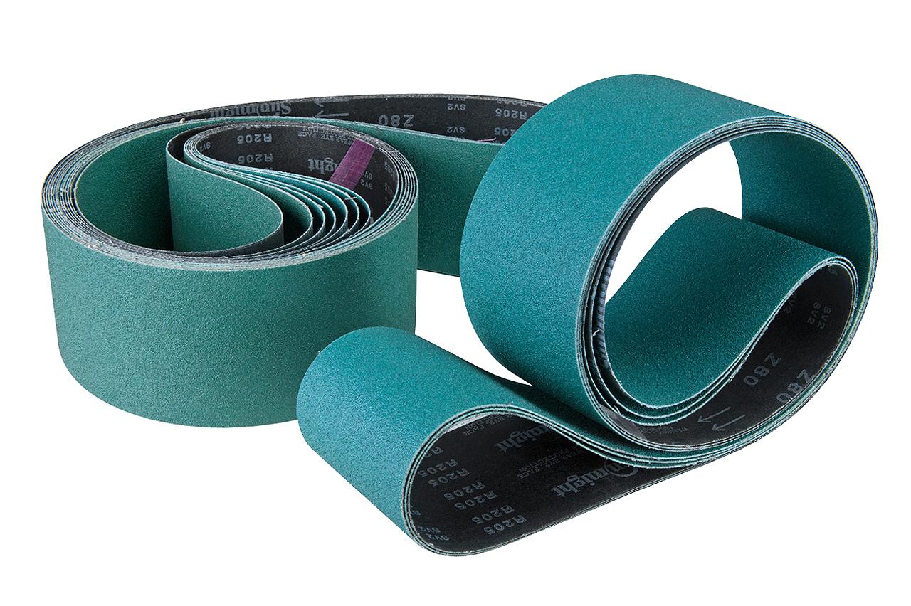 Køb 2000 x 100 mm K120 Vävt slipband 10-pack
