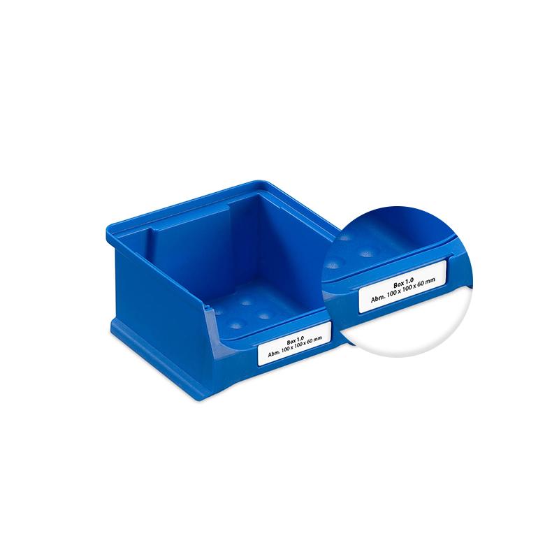 Køb Mærkater/Etiketter til Reolkasse 1.0 (Forpakning med 390 stk)