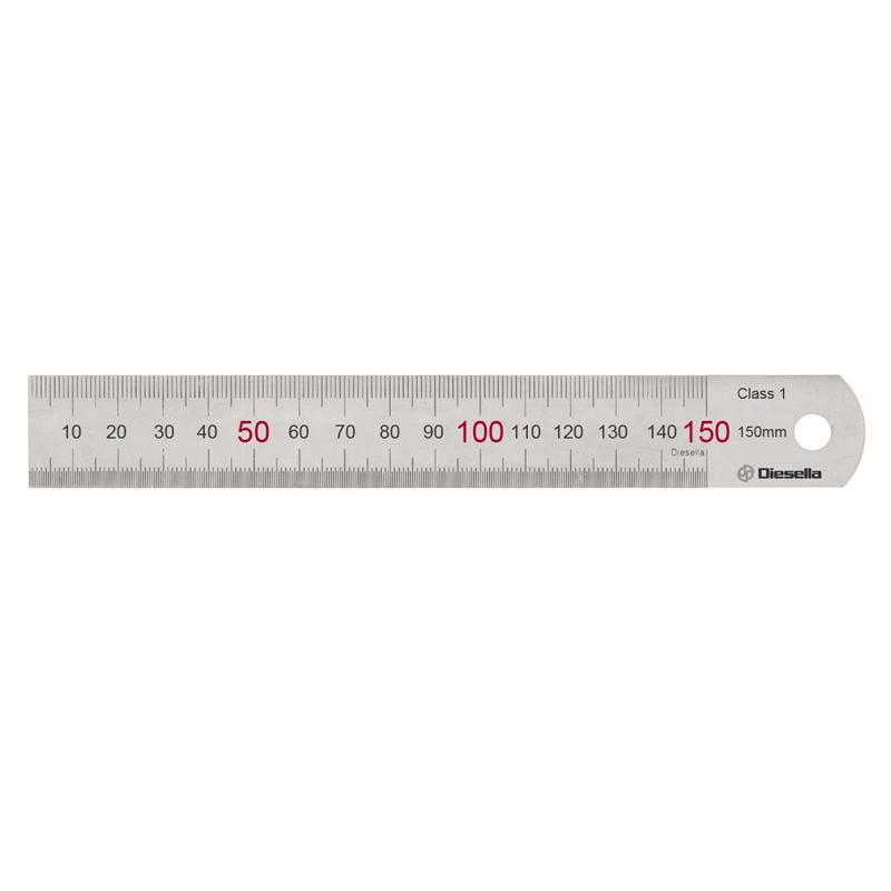 Diesella Stållineal 150X15X0,5 mm