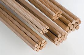 Hero-Tools Træ dyvler 8 mm x 100 cm
