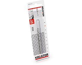 Kreator HSS metalbor 3,5 mm
