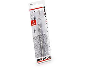 Kreator HSS metalbor 5,0 mm