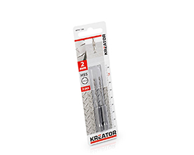 Kreator HEX HSS Metalbor 2,0 mm - 2 stk