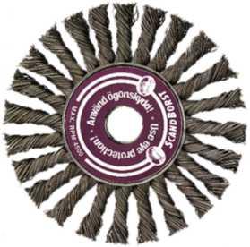 Cirkulärborste 125mm 0,50vst