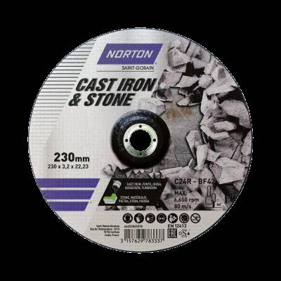Norton KAPSKIVA C&S T41 125X2,5X22