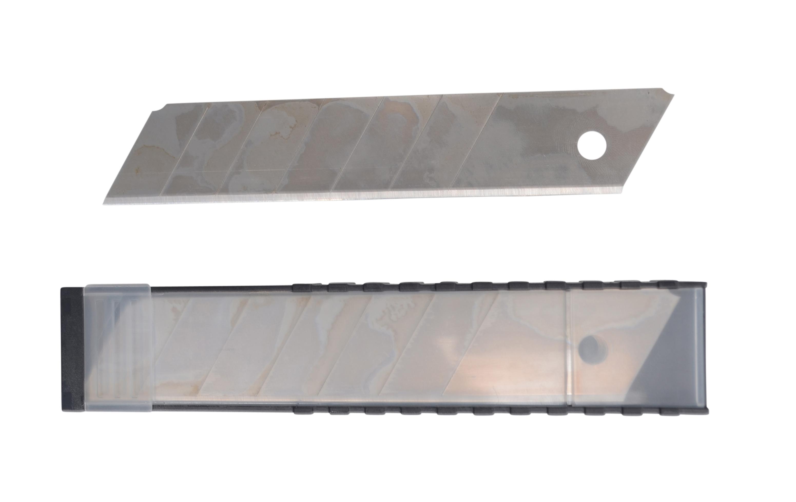 BOXER Knivblad 25 mm. x 10 stk.- SK5 stål