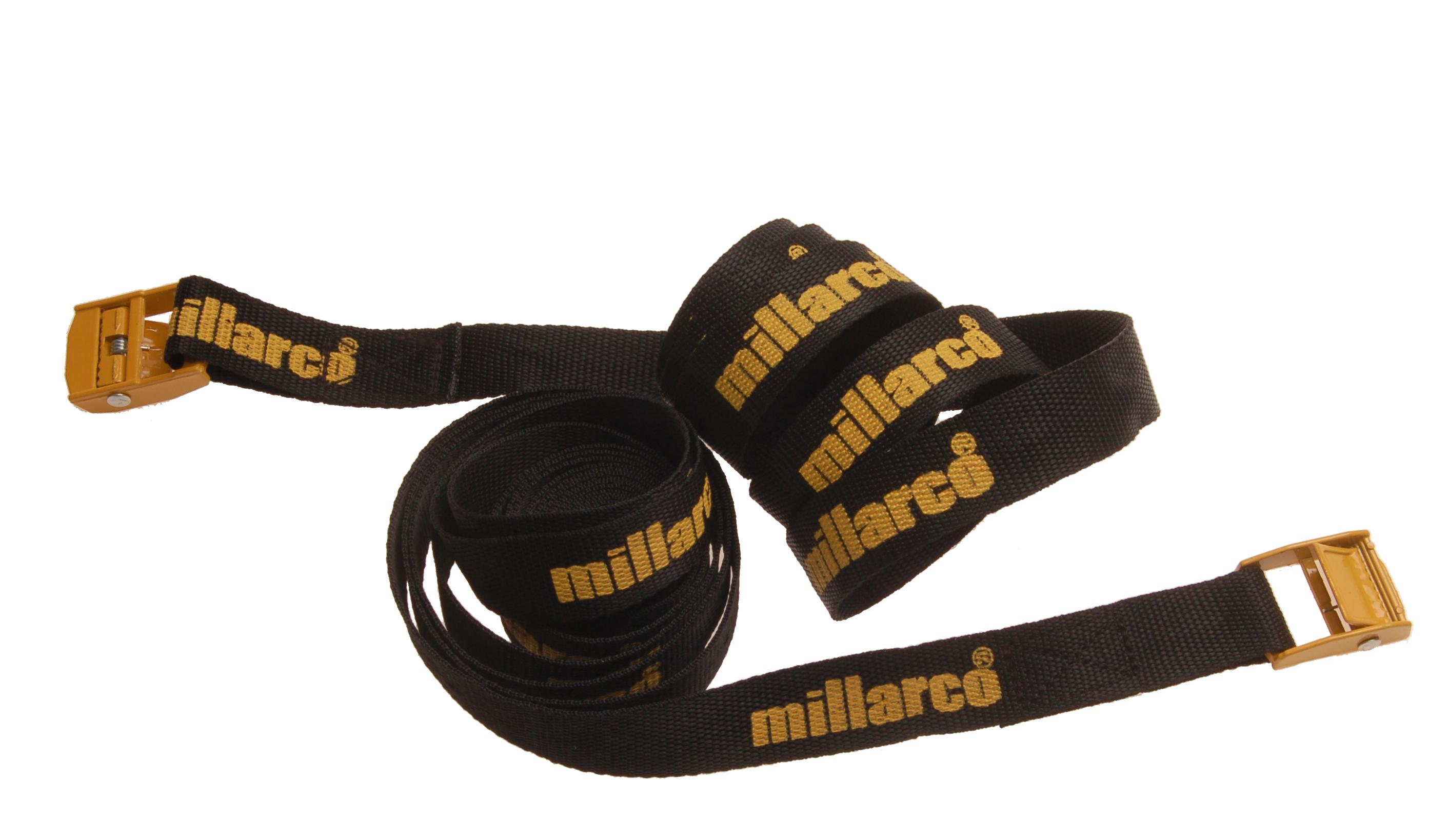 Millarco Bagagefastspænder 3,0 m. - 2 stk.