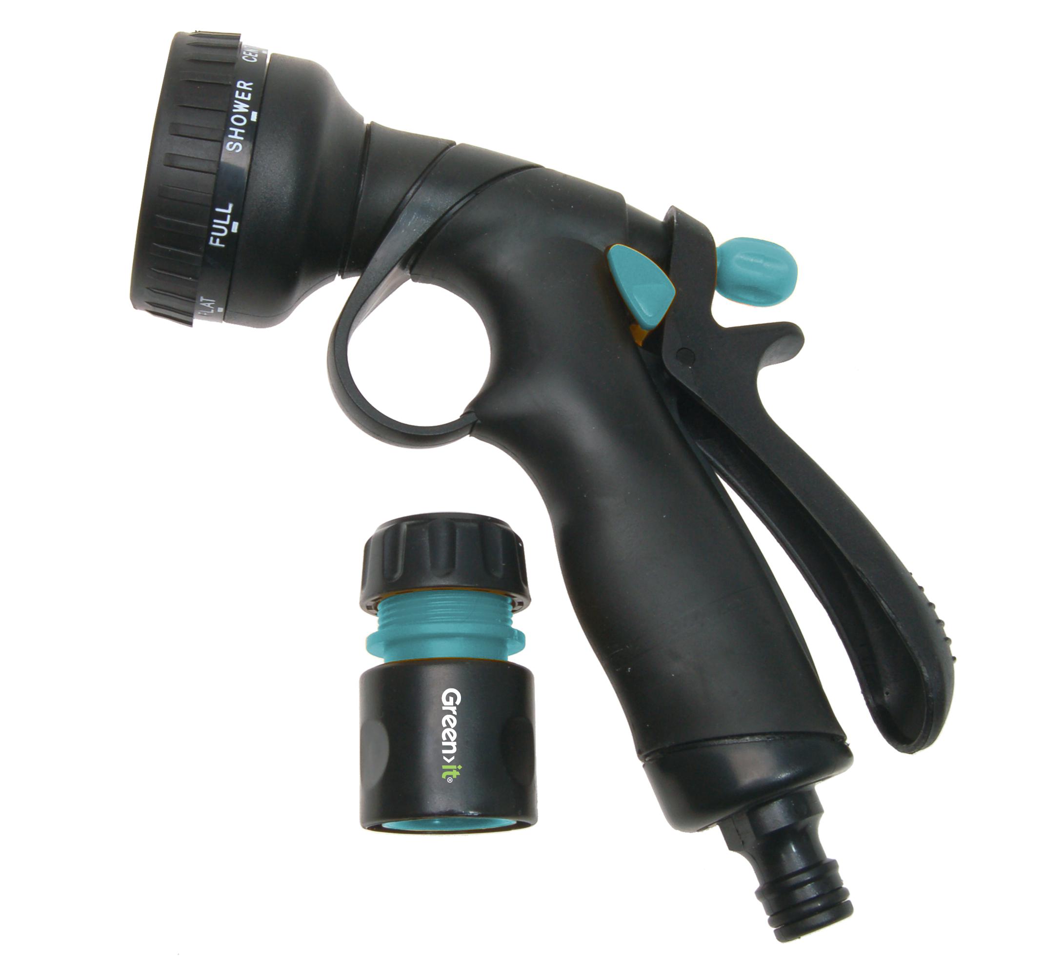 Green||It Brusepistol med slangekobling